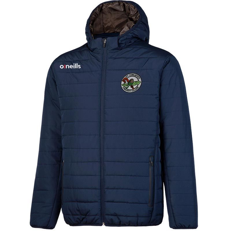 St Conleth's Community College Solar Mens Hooded Padded Jacket