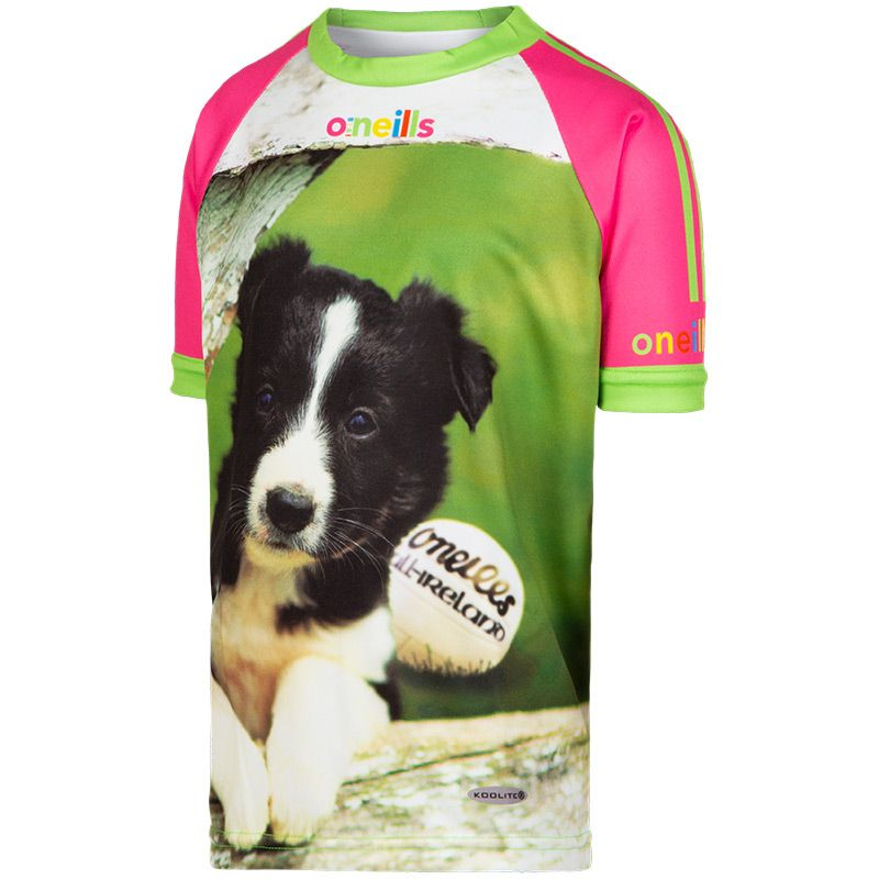 Kids' Star Paws Pink Ploughing Championships Jersey 2019
