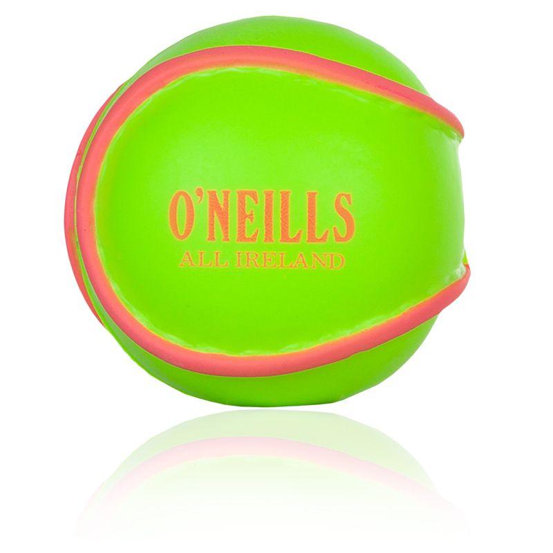 All Ireland Hurling Stress Ball (Neon Lime/Flo Pink)