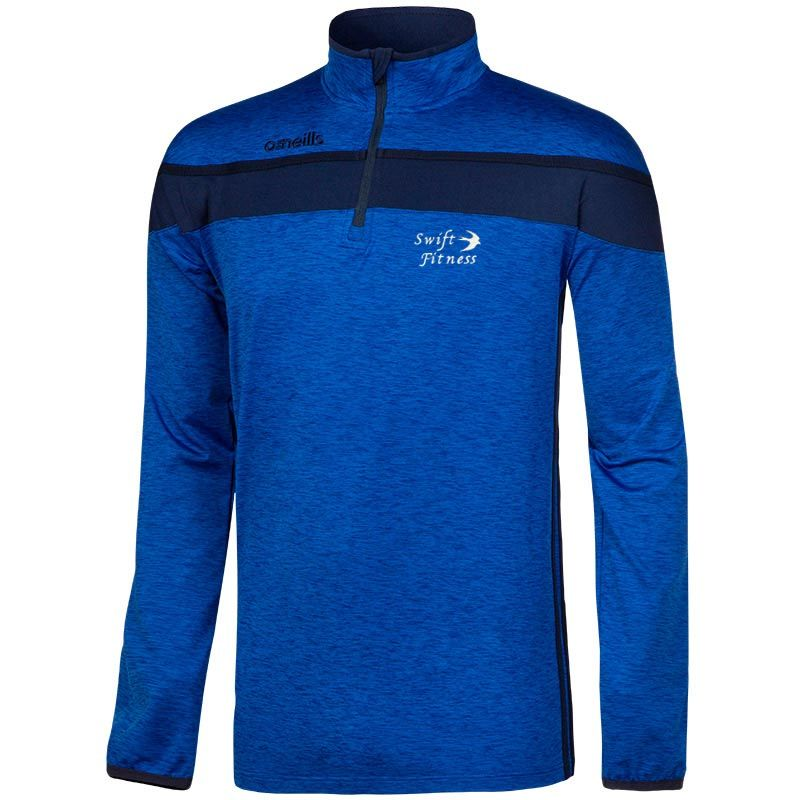 Swift Fitness Kids' Auckland Half Zip Brushed Top
