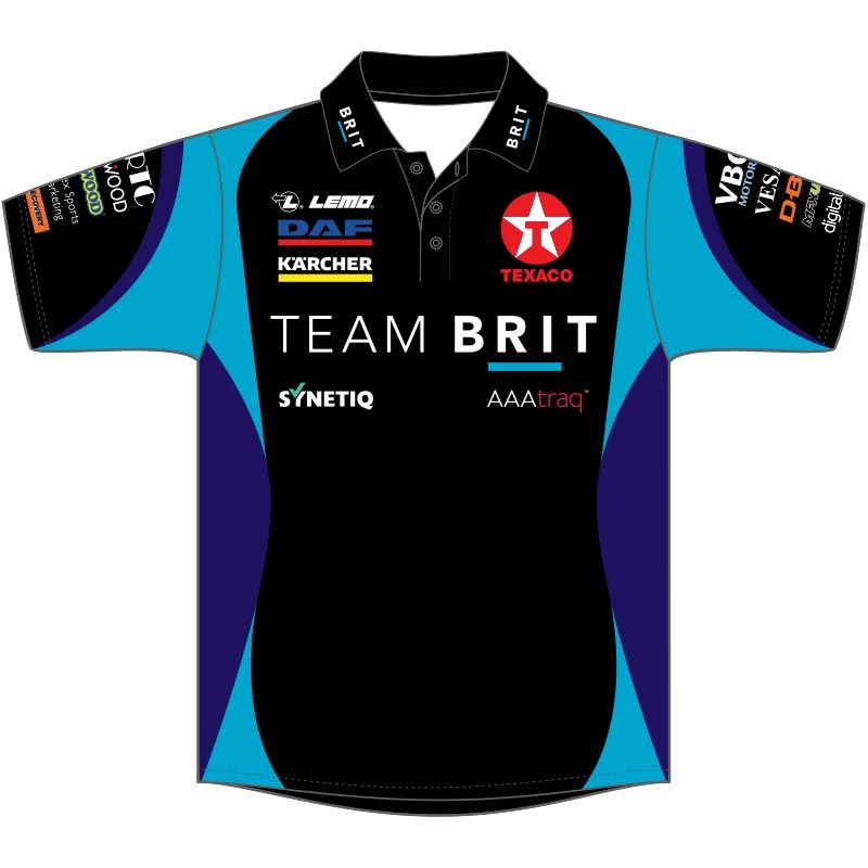 Team BRIT Printed Polo (2020)
