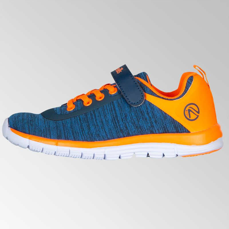 Tempo Velcro Trainer Pre-school Royal Orange
