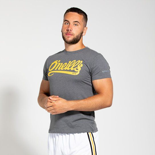 Men's Reef Signature T-Shirt Dark Grey