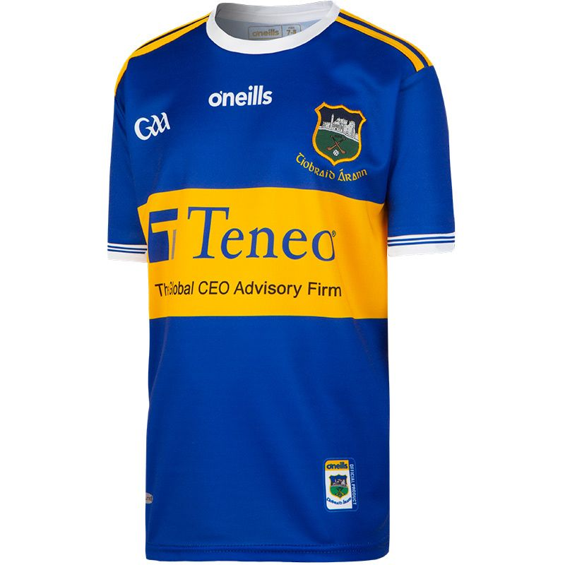 Tipperary GAA Home 2-Stripe Jersey (Kids)