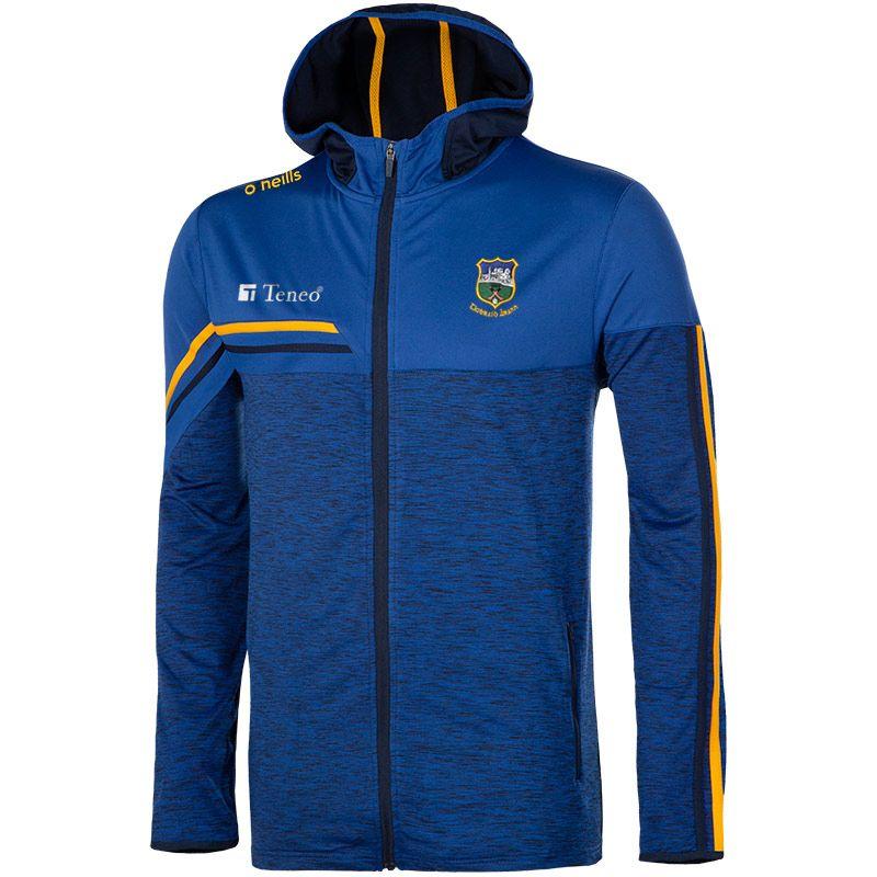 Tipperary GAA Men's Nevis Brushed Full Zip Hoodie Blue / Yellow