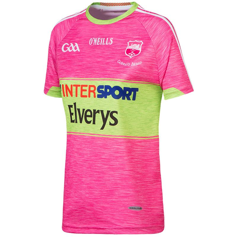 Tipperary GAA Womens Fit Jersey (Pink)