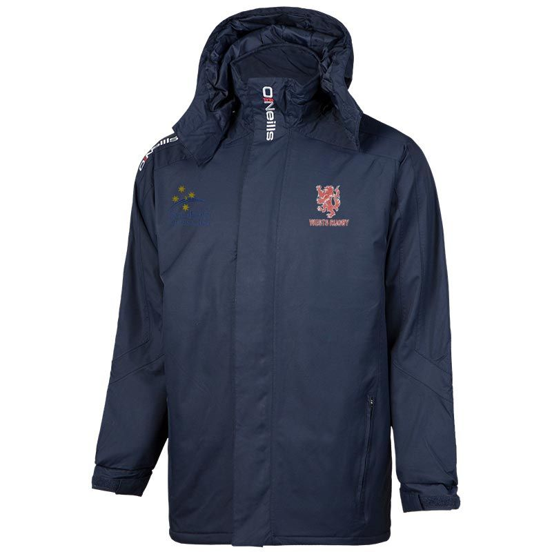 Wests Rugby Club Touchline 3 Padded Jacket