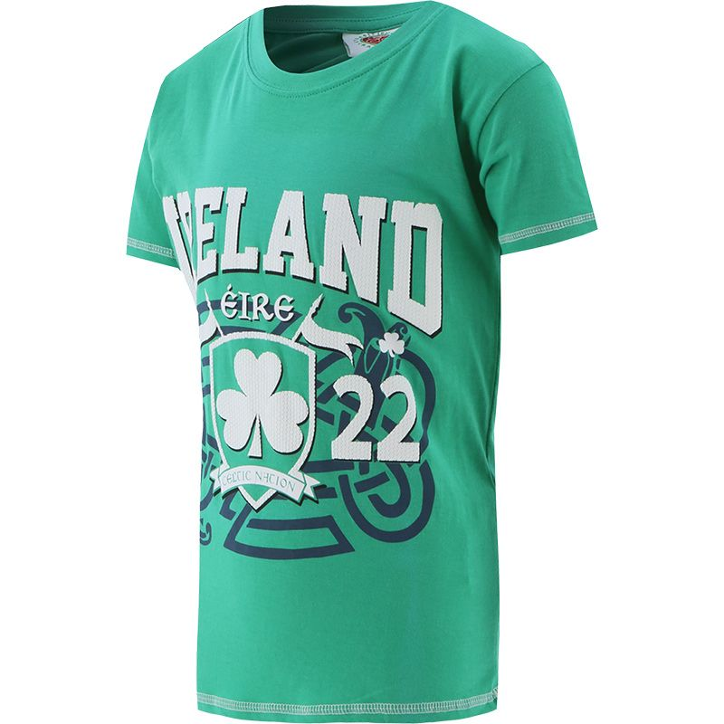 Kids' Trad Craft Ireland 1922 T-Shirt Green