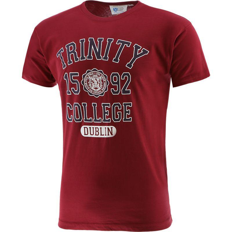 Trinity College 1952 T-Shirt Burgandy