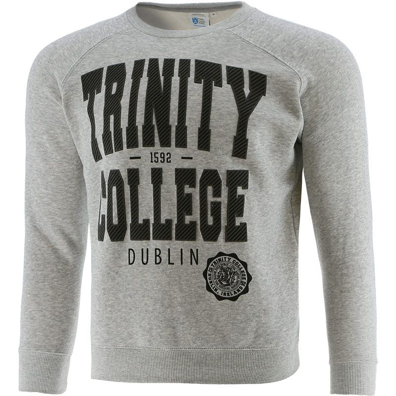 Trinity College Sweatshirt Grey Marl