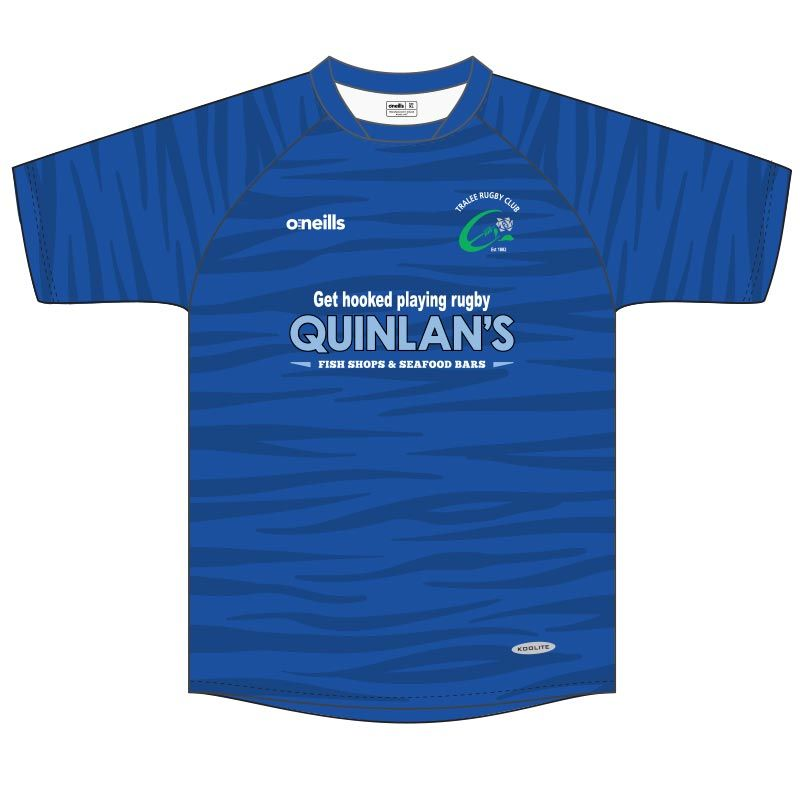 Tralee Rugby Club Kids' Training Jersey (Quinlans's)