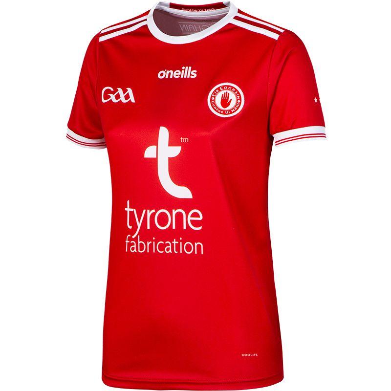 Tyrone GAA Away Womens Fit 2-Stripe Jersey