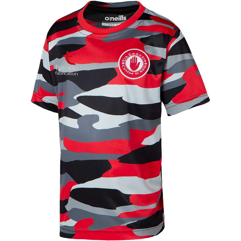 Tyrone GAA Kids' Bobby Sublimated T-Shirt Multi