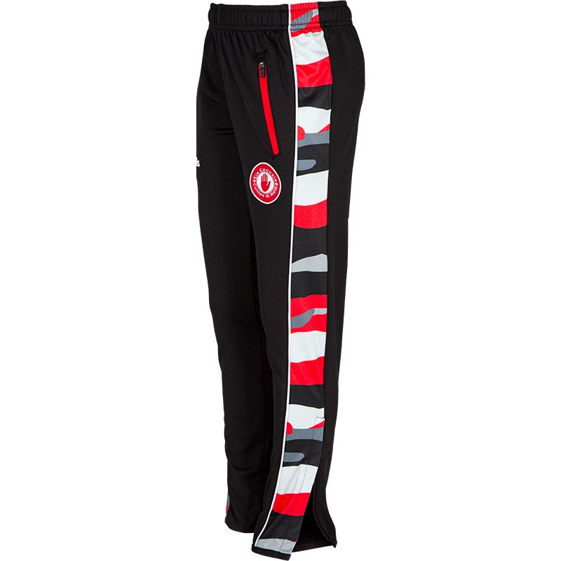 Tyrone GAA Kids' Bobby Brushed Skinny Pants Black / Multi / Red