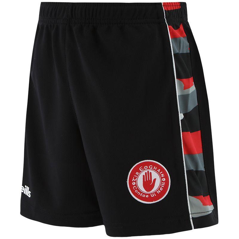 Tyrone GAA Kids' Bobby Shorts Black / Multi / Red