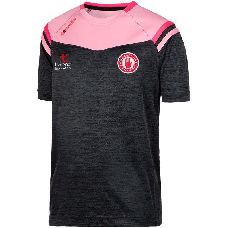Tyrone GAA 2S Colorado T-Shirt (Kids) (Mel Tonal Black/Cotton Candy/Knockout Pink)