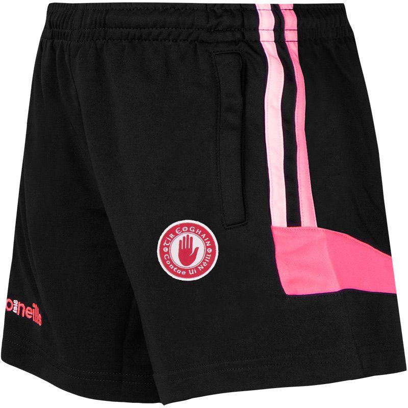 Tyrone GAA Colorado 2S Shorts (Kids) (Black/Cotton Candy/Knockout Pink)
