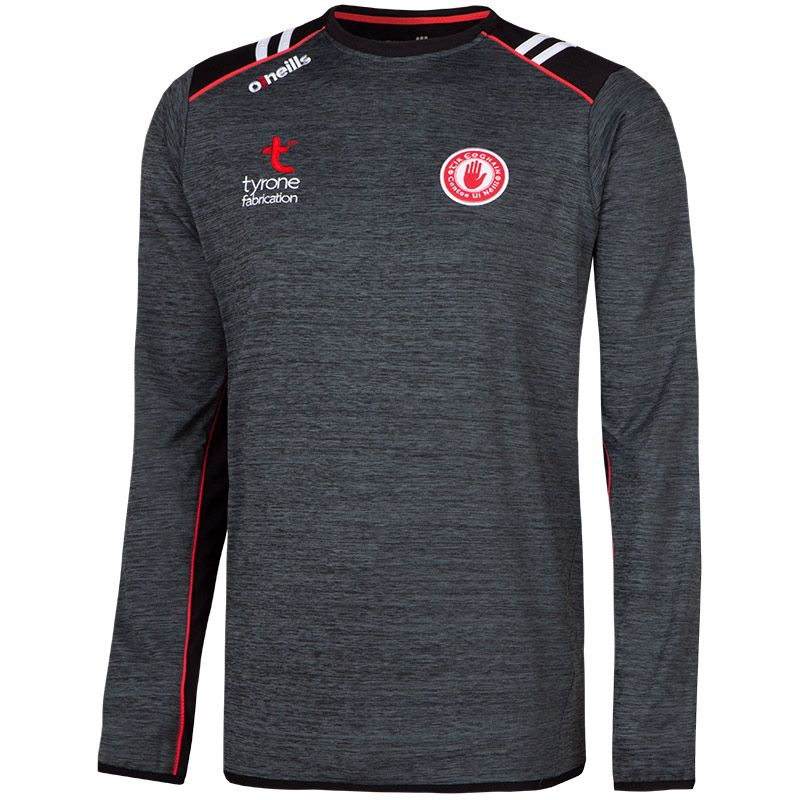 Tyrone GAA Men's Manor Sweatshirt Black / Red / White