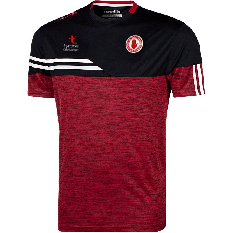 Tyrone GAA Men's Nevis T-Shirt Red / Black / White