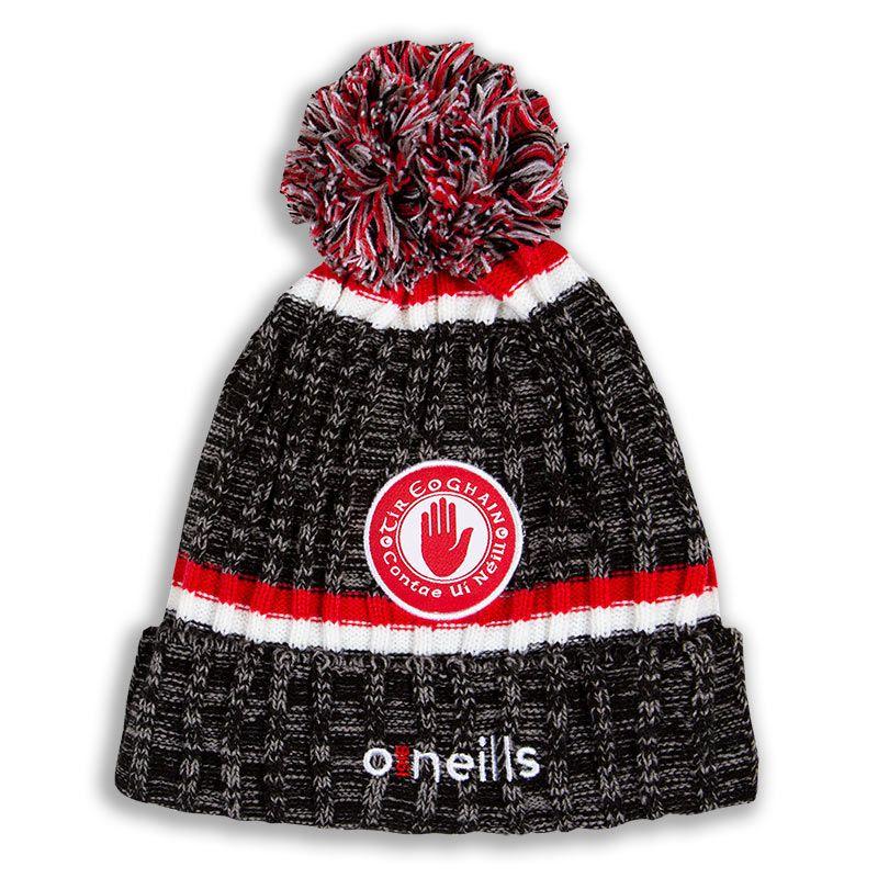 Tyrone GAA Nevis Bobble Hat Black / Red / White