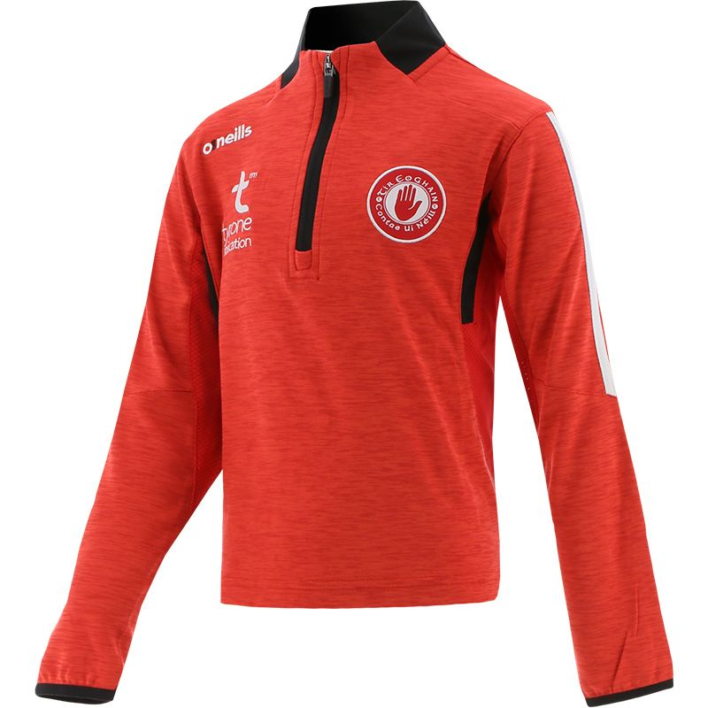 Tyrone GAA Kids' Raven Mid Layer Red / Black / White