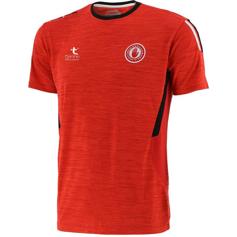 Tyrone GAA Kids' Raven T-Shirt Red / Black / White
