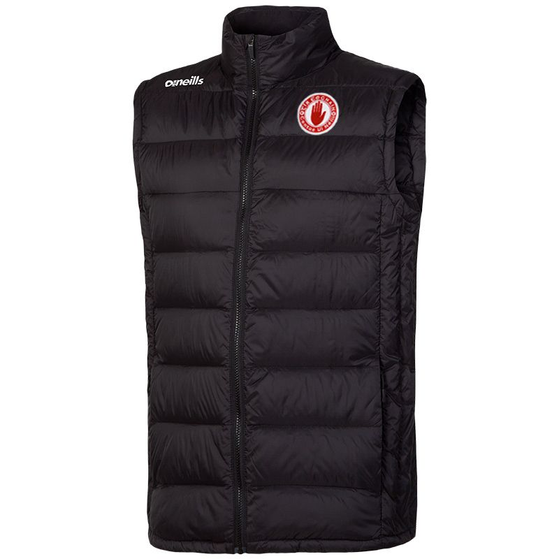 Tyrone GAA Kids' Brookdale Down Filled Gilet Black