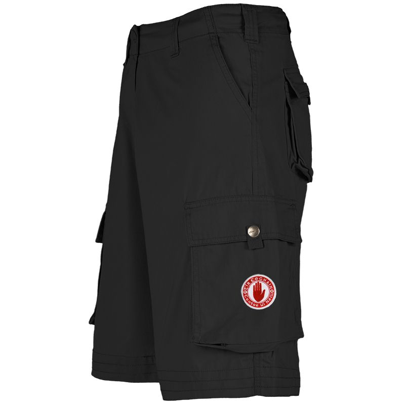 Tyrone GAA Toulon Cargo Shorts (Black)