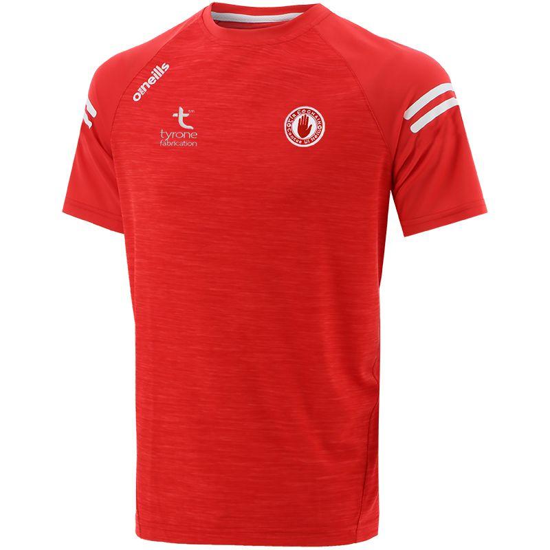 Tyrone GAA Kids' Voyager T-Shirt Red / White