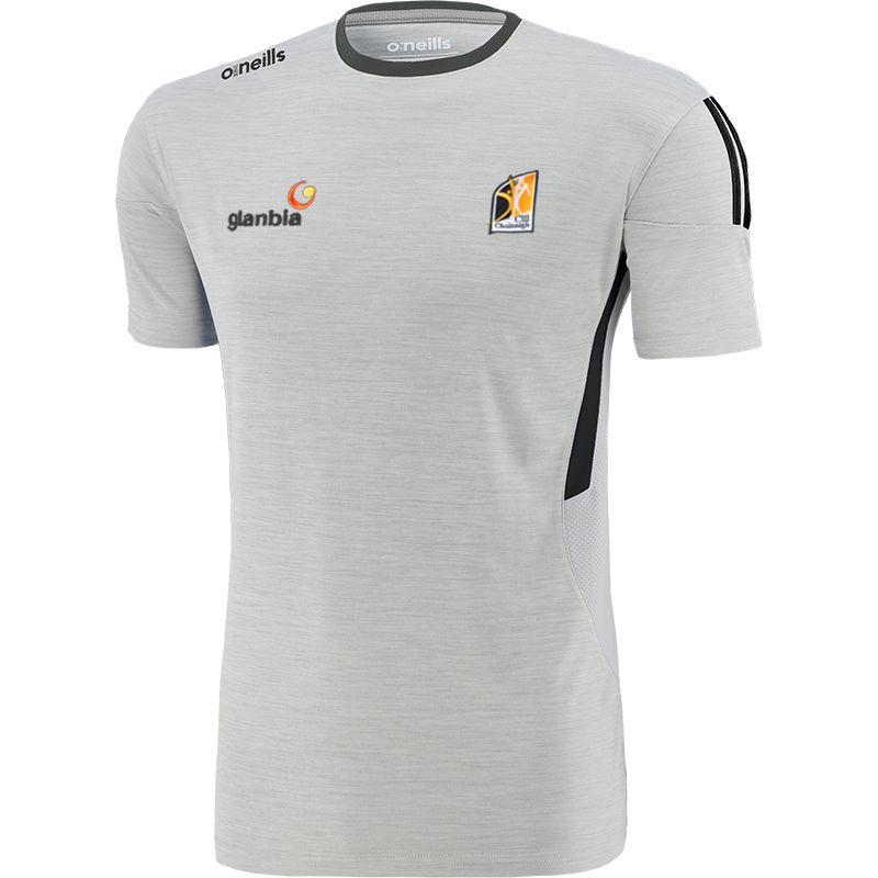 Kilkenny GAA Men's Raven T-Shirt Silver / Dark Grey