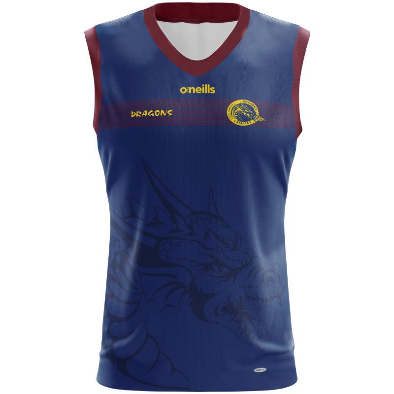 Catalans Dragons Rugby Vest Womens (Dragon)
