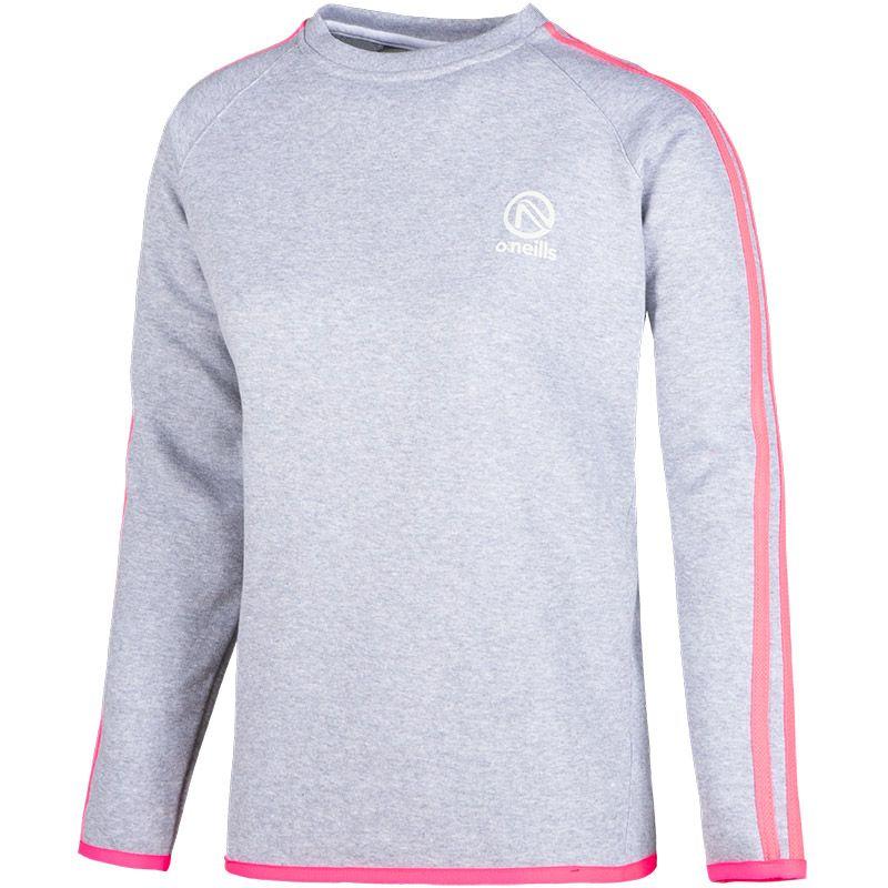 Women's Voyager Sweatshirt Grey / Pink / White