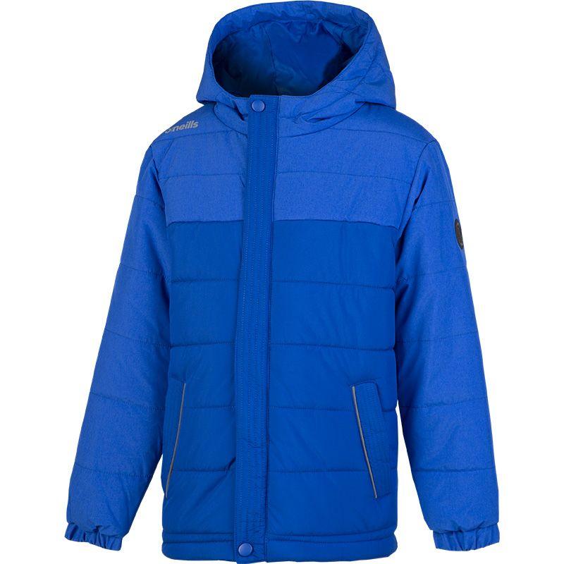 Kids' Washington Full Zip Hooded Padded Jacket Royal