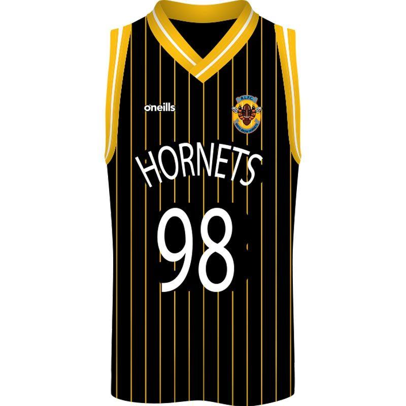 Wath Brow ARLFC Basketball Vest (Black)