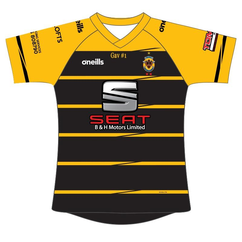 Wath Brow Hornets Open Age Rugby Jersey (B&H Motors) (Toddler)