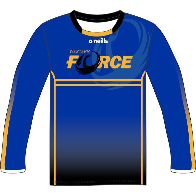 Western Force Kids' Long Sleeve Printed T-Shirt