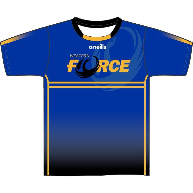 Western Force Short Sleeve Printed T-Shirt