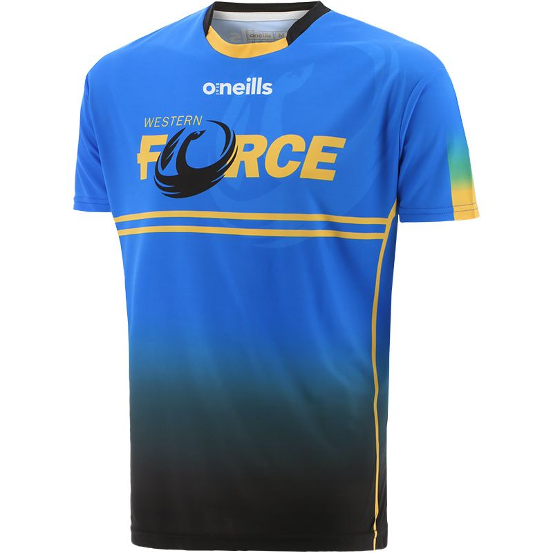 Western Force Short Sleeve Printed T-Shirt