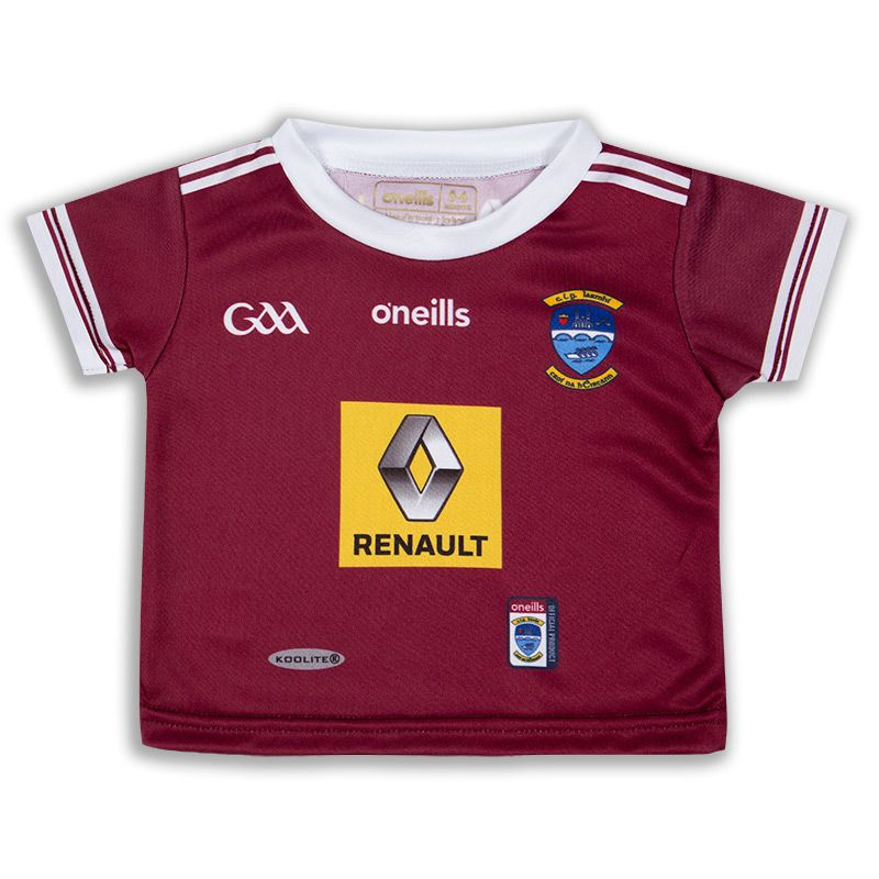 Westmeath GAA Baby 2 Stripe Home Jersey