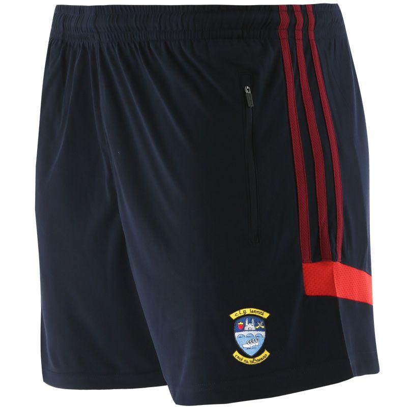 Westmeath GAA Kids' Raven Shorts Marine / Maroon / Red
