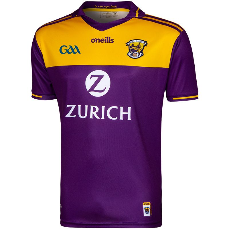 Wexford GAA Player Fit 2 Stripe Home Jersey