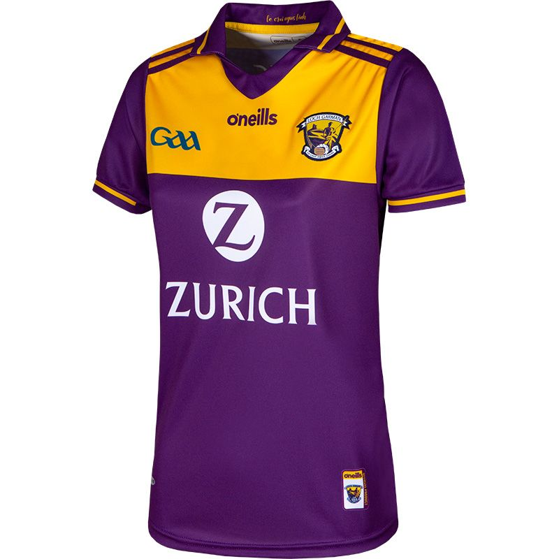 Wexford GAA Women's Fit 2 Stripe Home Jersey