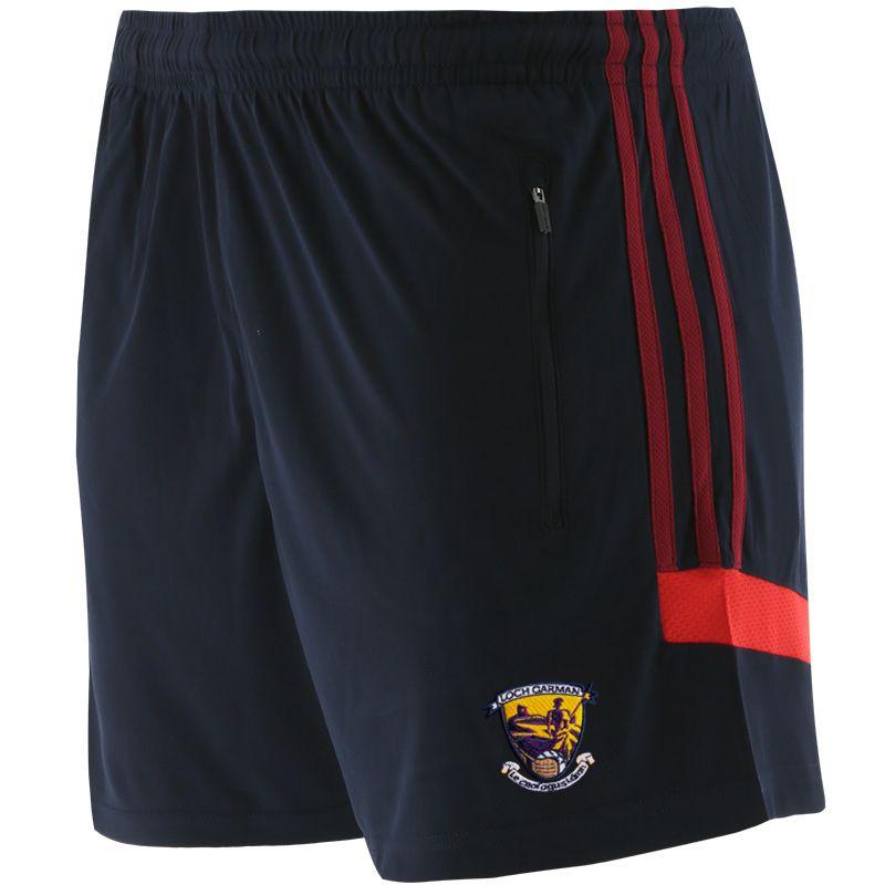 Wexford GAA Men's Raven Shorts Marine / Maroon / Red