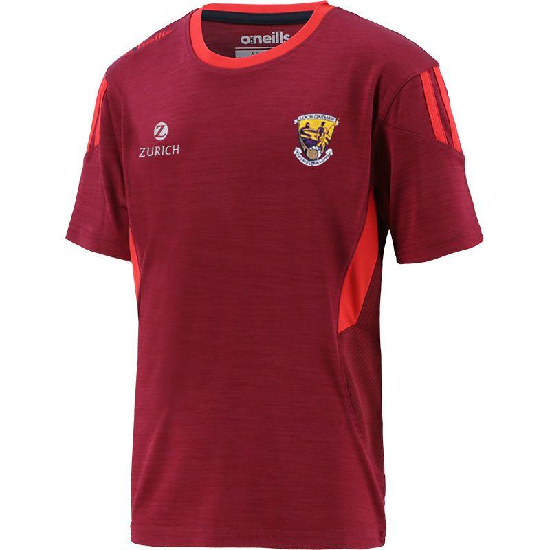 Wexford GAA Kids' Raven T-Shirt Maroon / Red / Marine