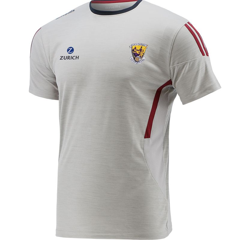 Wexford GAA Kids' Raven T-Shirt Silver / Maroon / Marine