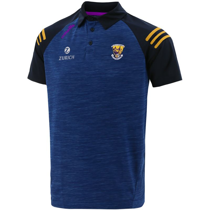 Wexford GAA Men's Voyager Polo Shirt Marine / Purple