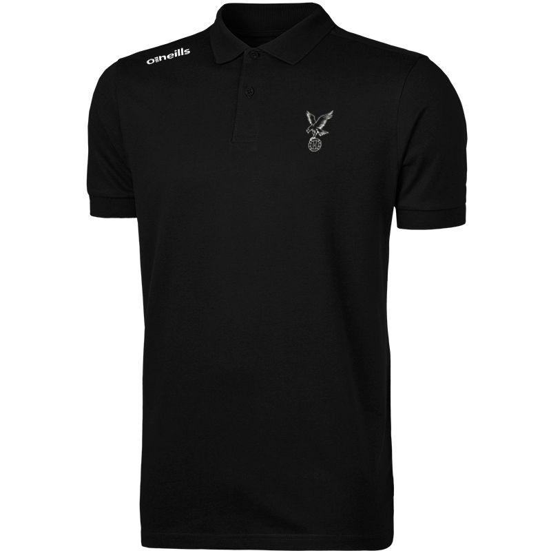 Whitehawk FC Portugal Cotton Polo Shirt (Black)