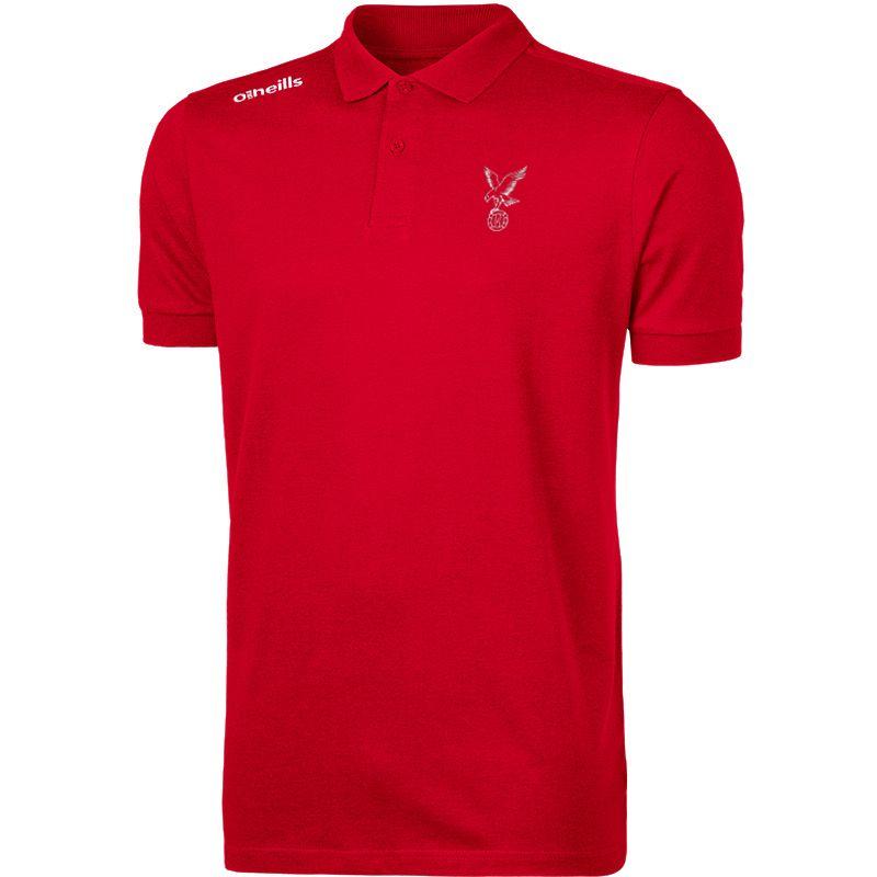 Whitehawk FC Kids' Portugal Cotton Polo Shirt (Red)