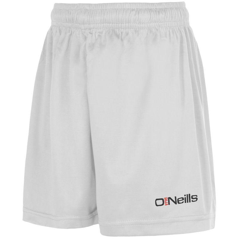 Kids' Aztec Shorts White