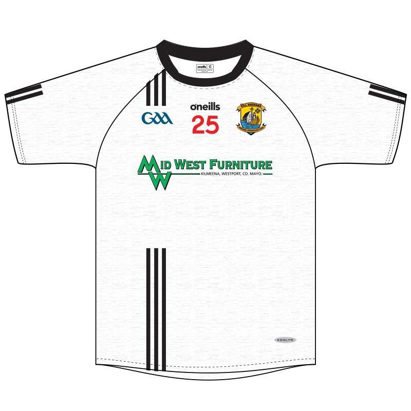 Kilmeena GAA Kids' Jersey (White)